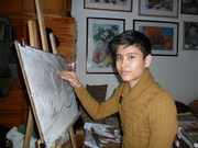 уроки рисования и живописи,  лепка из скульптурного пластилина